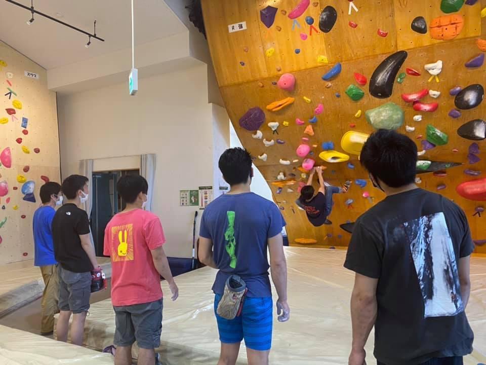 国体山岳競技宮城県代表選手選考会と復旧セット